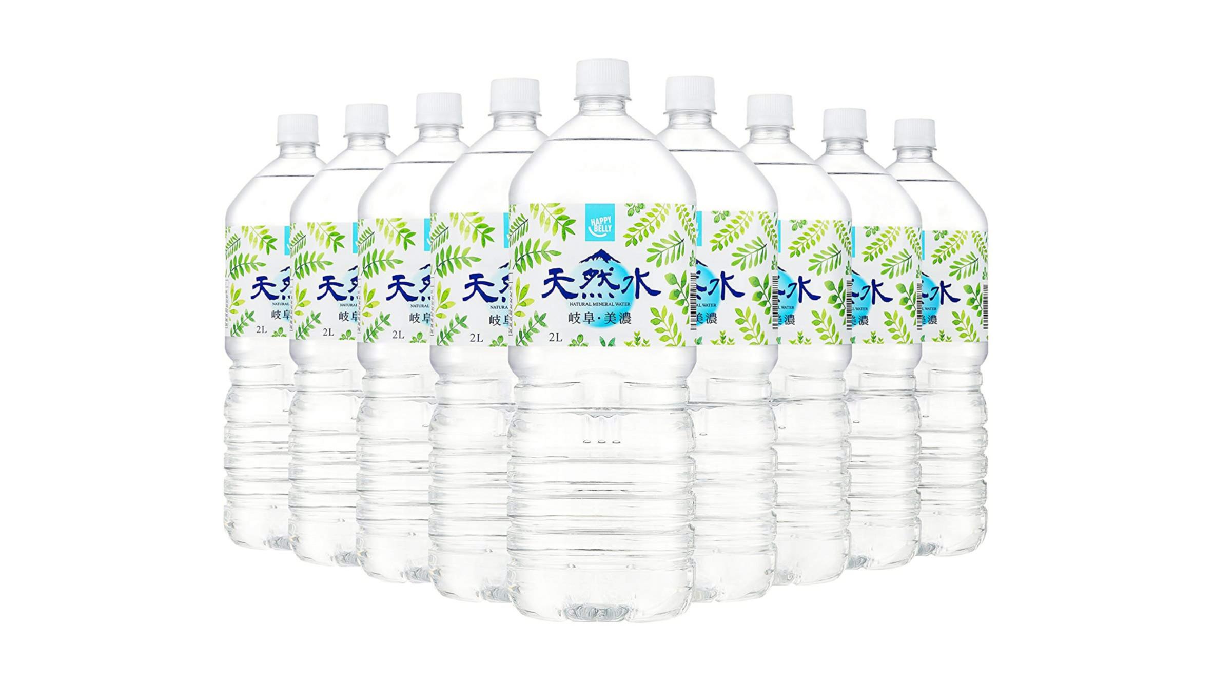 意外と役立つミルク用に最適な水『Happy Belly天然水 岐阜・美濃 』